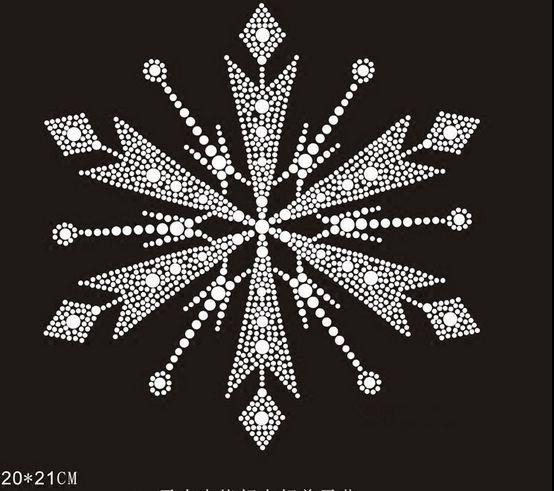 2pc / lot hot fix nosorogovo prenašanje železa na kristalnih prenosih oblikovnih obližev za obleko srajce