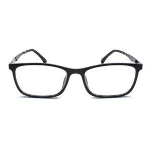 Image 5 - TR 90 プラスチック眼鏡フレーム男性ファッション光学近視処方クリアコンピュータ眼鏡フレーム X2005 フレーム眼鏡