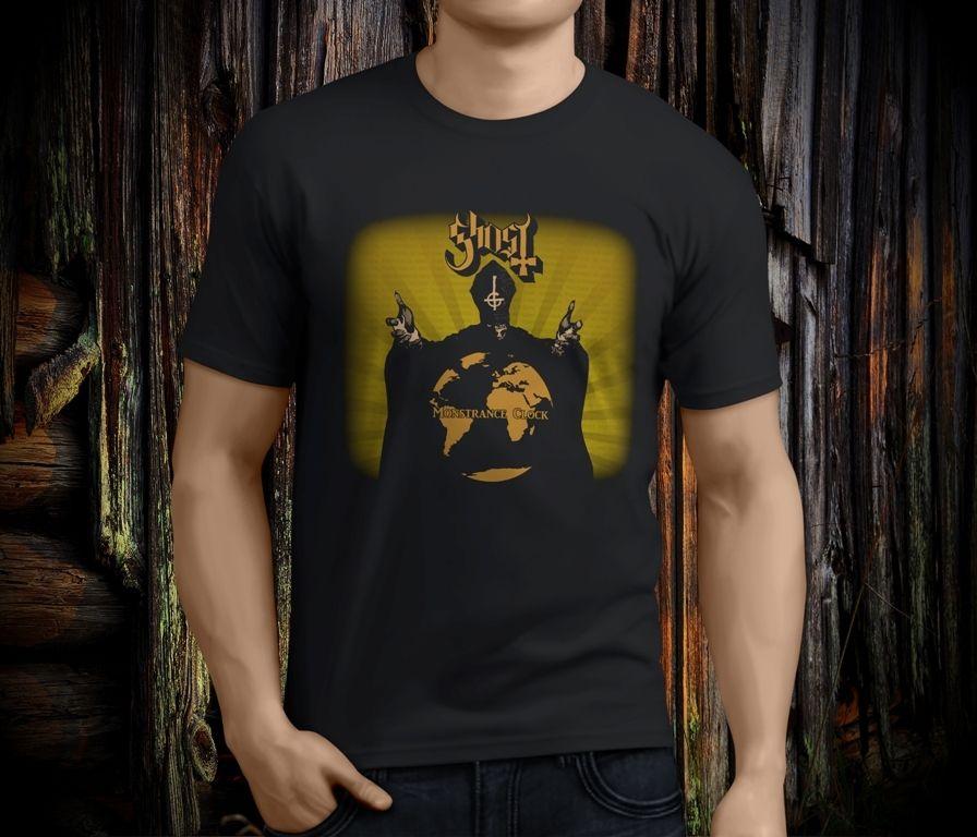 Shop Shirts Short Sleeve Zomer Crew Neck Mens Ghost Bc Band Monstance Clock T Shirts