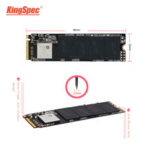 KingSpec SSD M.2 120gb 240gb 512gb M2 SSD pcie NVMe 128GB 256GB 2280 PCIE SSD M.2 HDD PCIe Internal Hard Drive For Laptop MSI(China)