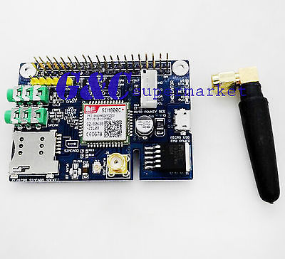 SIM800C Quad-band Wireless GSM GPRS Модуль ДЛЯ Raspberry Pi