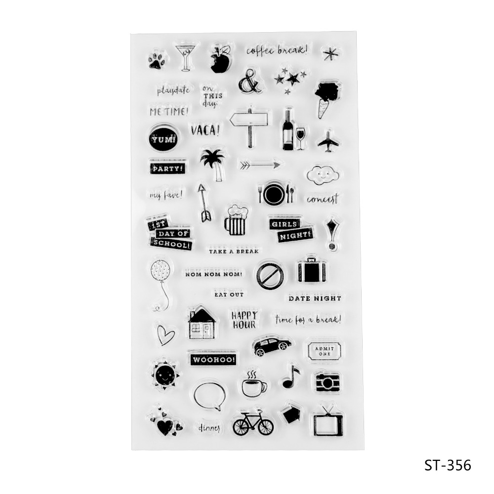 Lovely elements Transparent Clear Silicone Stamp/seal for DIY Scrapbooking/photo Album Decorative Clear Stamp Sheets about lovely baby design transparent clear silicone stamp seal for diy scrapbooking photo album clear stamp paper craft cl 052
