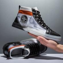 أحذية رياضية عصرية للرجال لربيع وخريف عام 2019 ، أحذية بتصميم عالي ، أحذية مشي للأولاد ، أحذية رجالية غير رسمية فاخرة ، أحذية شبابية بدون كعب