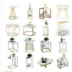 Scandinavo divano lato luce del governo di lusso piccolo tavolo da tè concise moderna creativo angolo di ferro tavoli laterali e da comodino tavoli