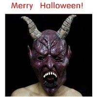 Delicate Factory Price Halloween Amazing Surprising Trcking Bloody Face Off Horror Costume Mask Power Ranger Macka