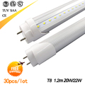 Promotion! t8 led tube light 1200mm 20w  22w 4ft, smd 2835 led fluorescent tube 110v 220v,  FEDEX Free Shipping, 30pcs/lot