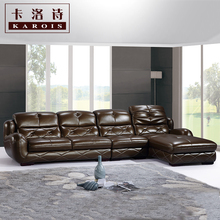 Morden sofa ,leather sofa, corner sofa, livingroom furniture, wholesale C38(China)
