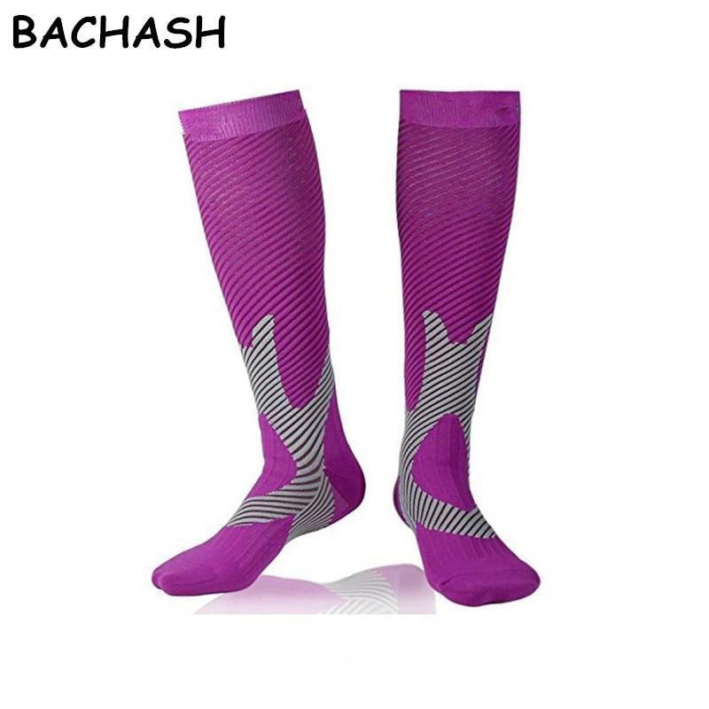 BACHASH 15-25 mmHg Graduated Compression Socks Firm Pressure Circulation Quality Knee High Orthopedic Support Stocking Hose Sock