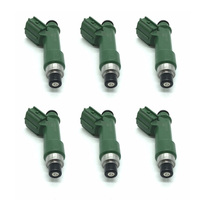 6pcs Fuel Injector Nozzle 1001 87K80 for Toyota Camry Corolla 6 Holes 700cc