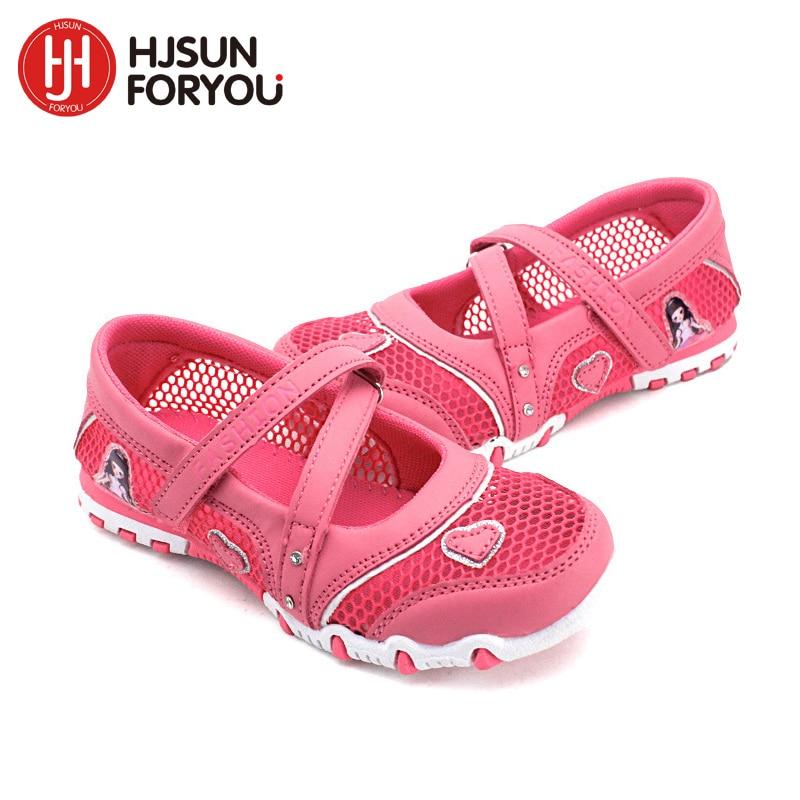 2020 New Summer High Quality Non-slip Children Shoes Girls Fashion Sandals Cartoon Princess Sandals Kids Flat