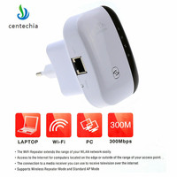 Centechia 300 Мбит/с беспроводной Wi Fi Wi-Fi репитер усилители сигнала усилитель сети Ретранслятор Extender Ap Wps маршрутизатор