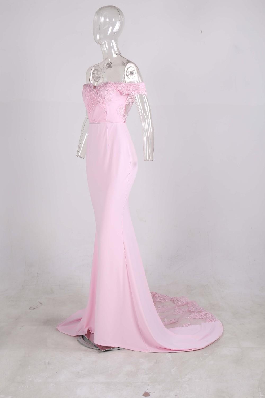 فستان سهرة  Missord جذاب مع ذيل وذو تصميم مميز 20
