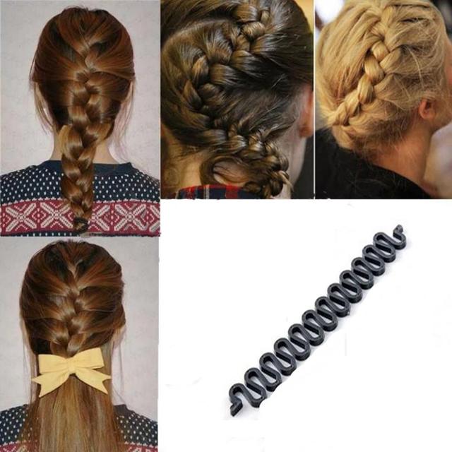 Hair Braiding Braider Tool Roller With Magic Hair Accessories For Women's