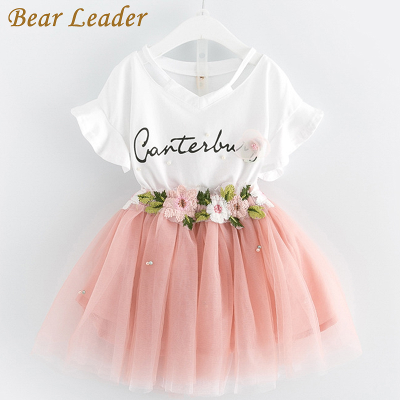 3a947f54b Bear Leader Girls Clothing Sets 2018 Brand Girls Clothes Butterfly ...