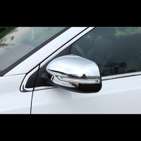 For KIA KX7 2017 2PCS ABS Car Side Door Rearview Mirror Protect Frame Cover Trim Car Styling Accessories