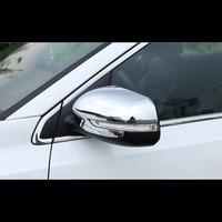 Para KIA 2 KX7 2017 PCS ABS Porta Lateral Espelho Retrovisor Do Carro Proteger Cobertura para Carcaça Guarnição Styling Acessórios Do Carro|Estilo de cromo| |  -