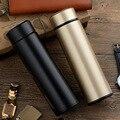 Garrafa de Vácuo Paredes Duplas de Aço Inoxidável garrafa térmica Garrafa de Água Copo Caneca Térmica para o Frio/Quente Beber 500 ml Garrafa Térmica Garrafa de bebida