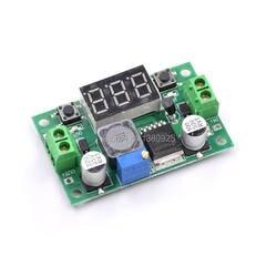 1 шт. LM2596 DC 4,0 ~ 40 до 1,3-37 V Регулируемый понижающий Мощность модуль + светодиодный вольтметр переменного тока/постоянного тока