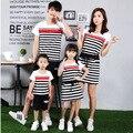 Семьи соответствующие наряды семья одежда мать и дочь соответствующие платье одежда отец сына одежды семья одежда TT55