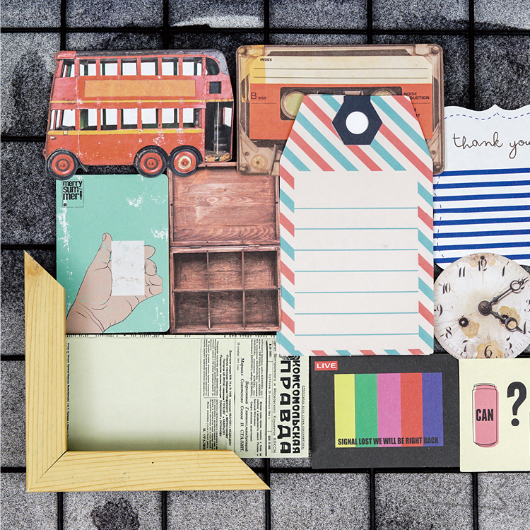 1 Set Memo Pads Sticky Notes Kawaii Vintage Story Diy Paper Notepad iary Scrapbooking Stickers Office School stationery Bookmark