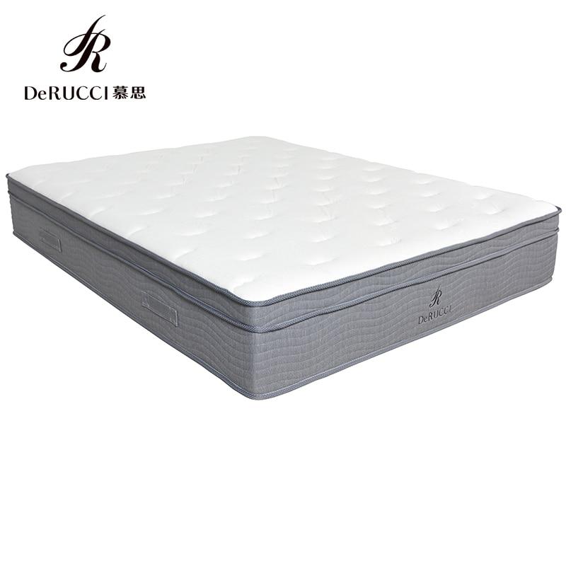 Orginal Derucci  Latex mattress  Shipping From US natural latex mattress comfort revolution hydraluxe gel memory foam mattress
