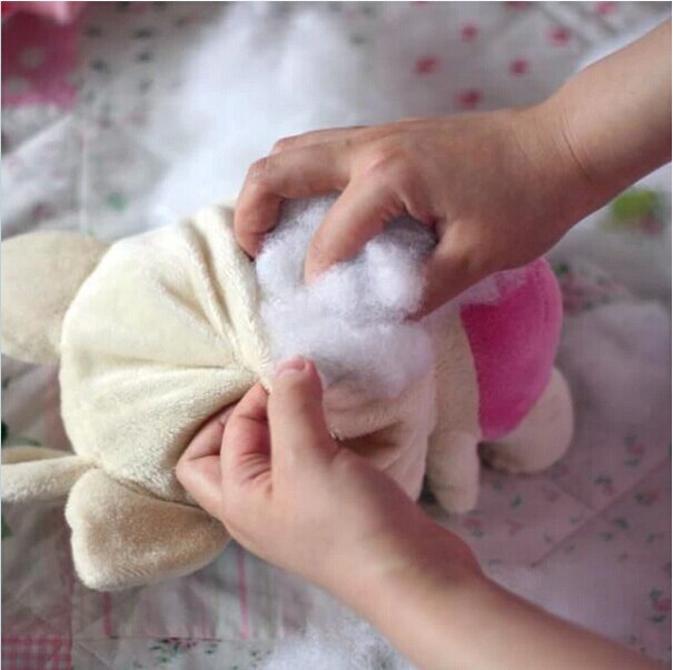 Diy Pillow Stuffing Material: High quality pillow filled fiberfill PP cotton stuffing doll DIY    ,