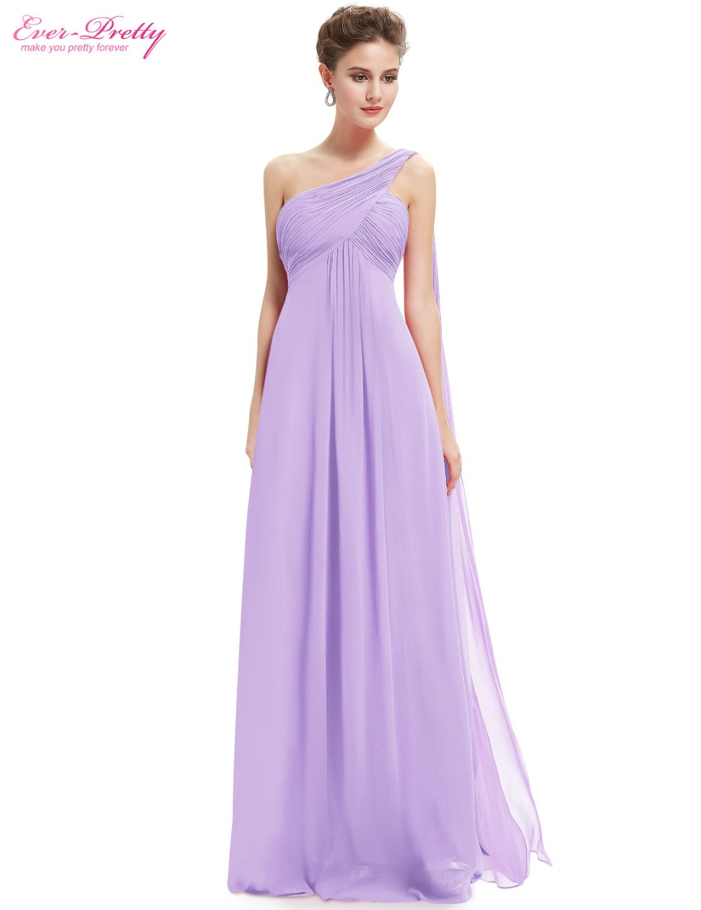 Bridesmaid Party Dresses One Shoulder Flowers Padded Ruffles Short ...