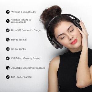 Image 4 - Лидер продаж, Bluetooth наушники Mpow H7, Беспроводные стереонаушники с микрофоном и временем воспроизведения 13 часов для iOS/Andriod/настольного ПК/телевизора