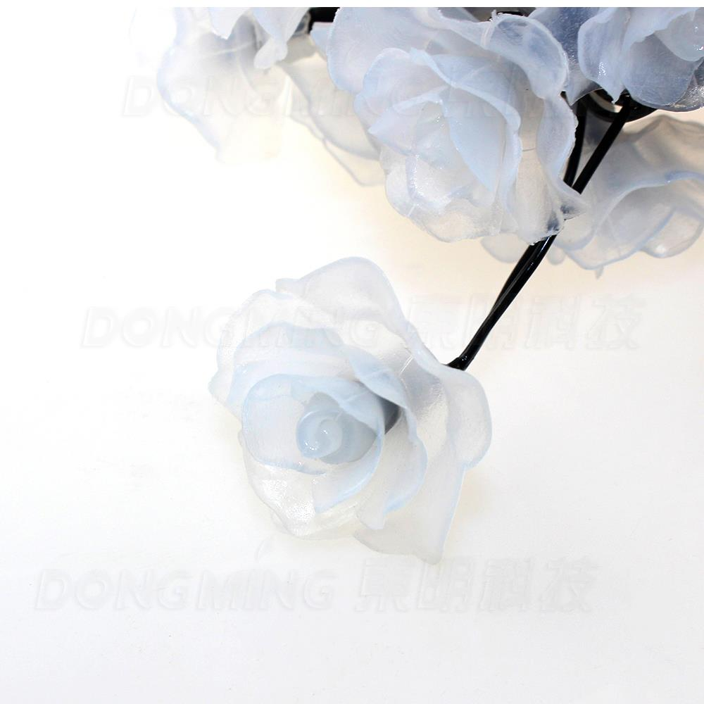 Rose 10M 80 LED Flower light fairy string christmas home Wedding garland decoration party lights bedroom Plastic 220V 110V
