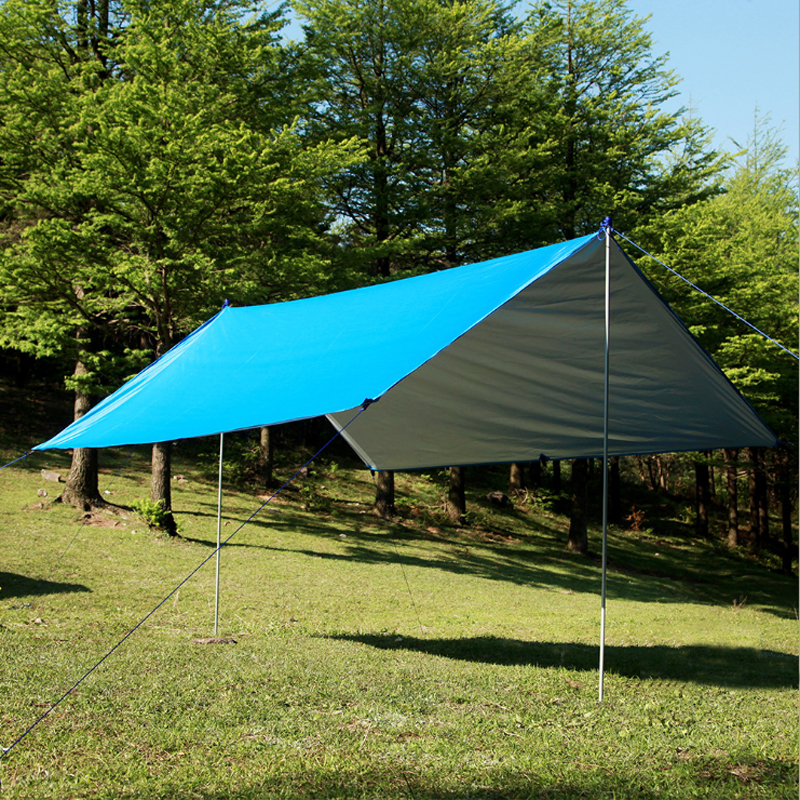 Sun Shelter Beach Tent Ultralight Anti UV Awning Garden Waterproof Canopy Sunshade Outdoor Camping Hammock Rain Tarp