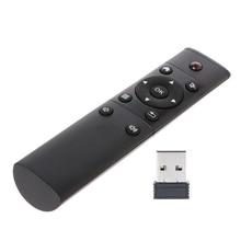 1pc Wireless 2.4GHz Remote Controller Black Air Mouse Remote Control For XBMC KODI Android TV Box Windows HTPC PCTV цена