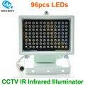 80 m distancia IR 96 Led Iluminadores ir Infrarroja Luz IR luz led de seguridad cctv cámara de visión nocturna de luz de relleno para cctv cámara