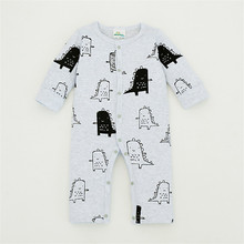 Winter Newborn Clothing Baby clothes Cotton Cotton Side buckle Baby Rompers Bebes Long sleeve Romper for babies/Infant Coveralls