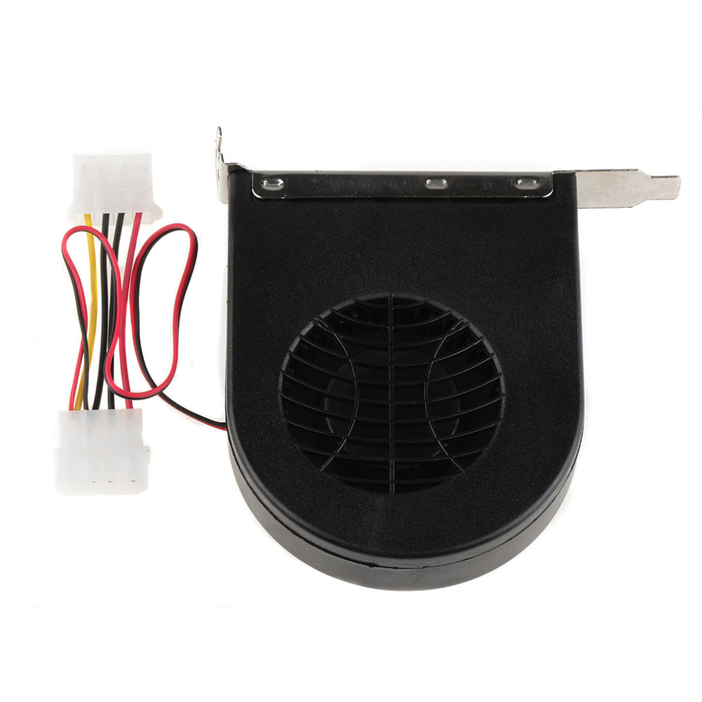 New Cooling Fan Turbine Radiator PCI Slots Desktop Exhaust Fan For Laptop Computer Chassis P0.11