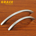 Modern Nickel Brush Furniture  Fashion Wardrobe Knobs Cabinet Drawer  Cabinet Door Handle (C.C:128mm,L:155mm)