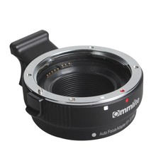Commlite EF-EOSM Electronic AF Auto Focus Lens Adapter for Canon EF EF-S Lens to EOS M M1 M2 M3 M5 M6 M10 EF-M Mount Camera