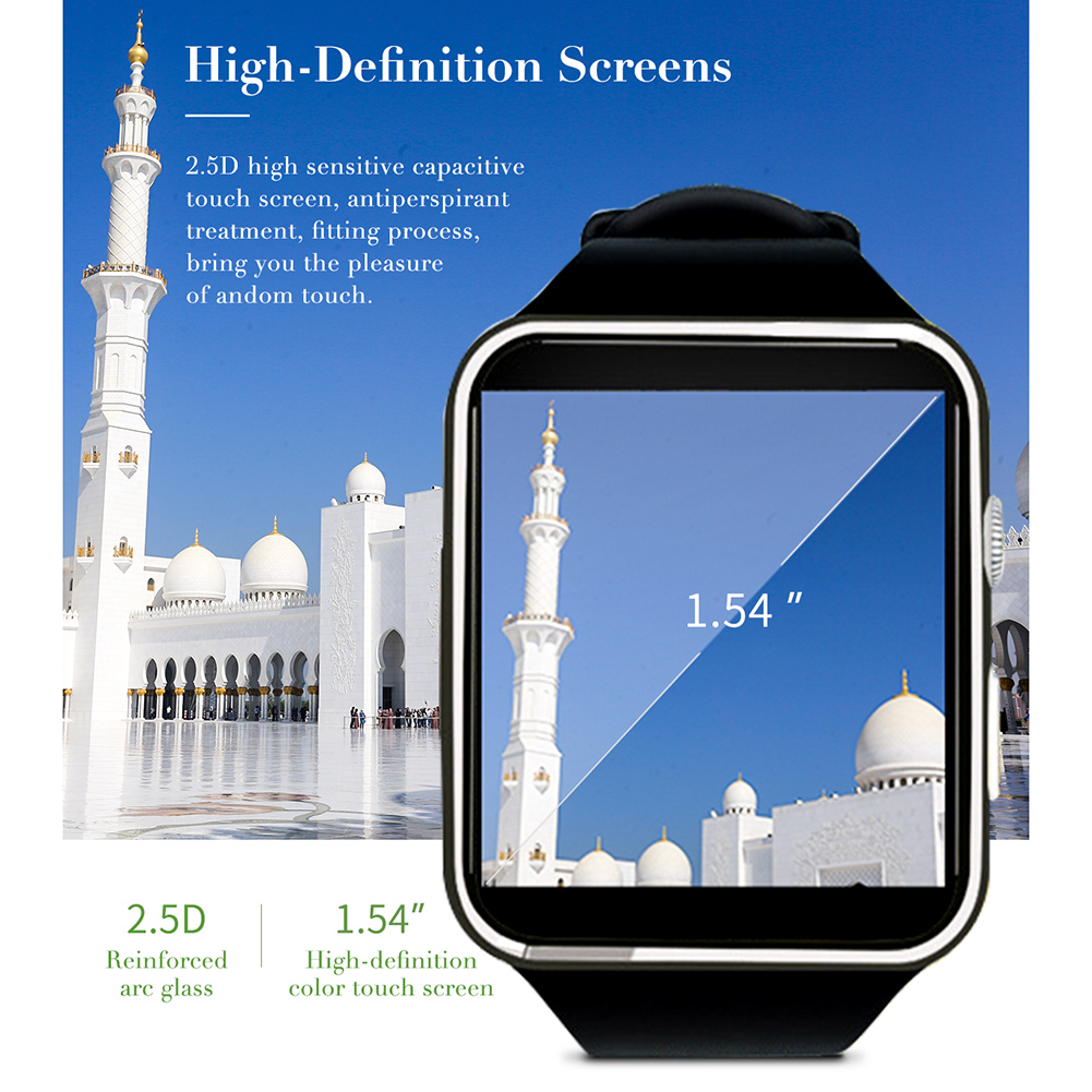 Square M6 Muslim Smart Watch Color Screen Bracelet Men Sports Fitness Tracker SIM Wristband Waterproof  Heart Rate Monitor Band
