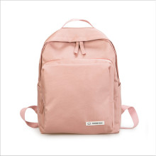 Solid color waterproof Oxford casual women's should bag backpack Student Leisure Travel Backpack collage school book bag simple fresh design pure color oxford women backpack fashion girls leisure bag school student book bag waterpoof travel bag