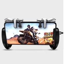 1Pair  For U9 Pugb Mobile Controller Gamepad Joystick PUBG Gaming Fire Trigger Button L1 R1 Shooter Aim Key Controll