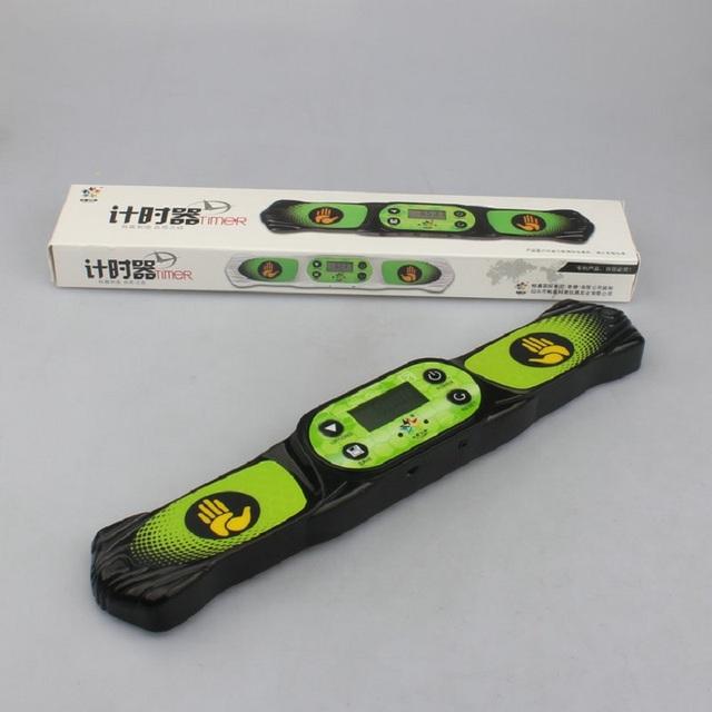 Yuxin G3 de Alta Velocidad Máquina de Reloj Temporizador para Cubo Mágico Negro/Blanco Cube Accesorios para el Juego de La Competencia Temporizador de La Máquina envío Gratis