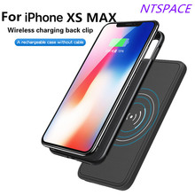 5000mAh New Fashion Wireless Magnetic Battery Case Charging For iPhone X/Xs Ultra-thin Portable Power Bank