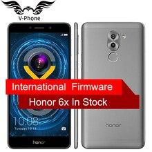 """Глобальный Встроенная память Huawei Honor 6×4 г LTE Hisilicon KIRIN 655 Octa Core Dual сзади Камера 5.5 """"4 ГБ Оперативная память 32 ГБ Встроенная память 1920*1080 мобильный телефон"""