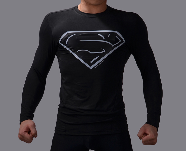 black superman t shirt