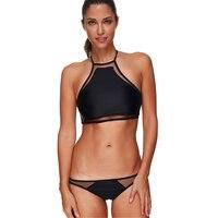 2017 Black Push Up Bikinis Sexy Swimwear Women New Micro Bikini Swimsuits Plus Size May Bathing