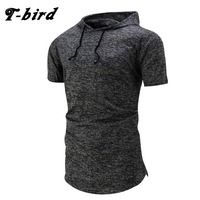 T Bird New Fashion 2017 Brand Male T Shirt Hooded T Shirt Trends T Shirt Men