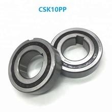50pcs/lot CSK10PP 10mm One Way Clutch Bearing With dual keyway 10x30x9 mm Sprag Freewheel Backstop Bearing 10*30*9mm