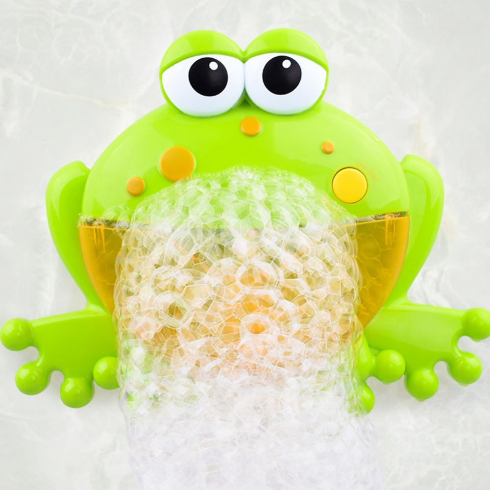 Baby Bath Toy Bubble Crabs Funny Music Bath Bubble Maker Pool Swimming Toys Pool Bathtub Soap Machine Toys for Children Kids