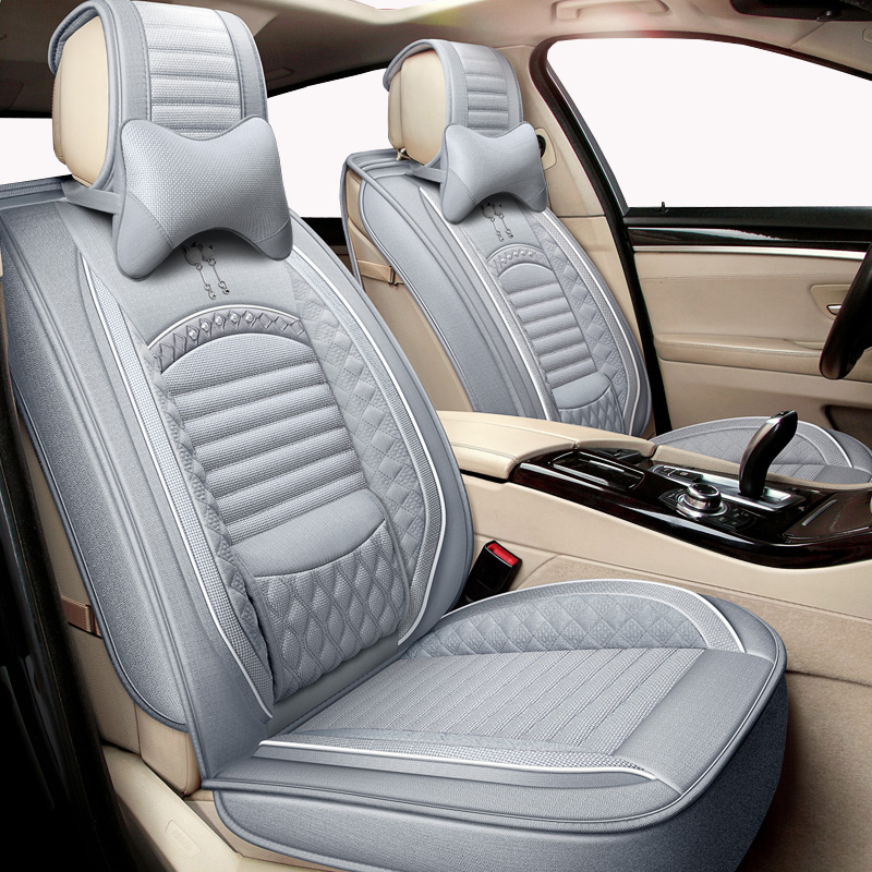 High quality Flax car seat cover For LEXUS CT ES IS GS GX LX RX NX LS GX460 GX470 GX400 RX580 GS300 RX450h HS250H IS250 rx300
