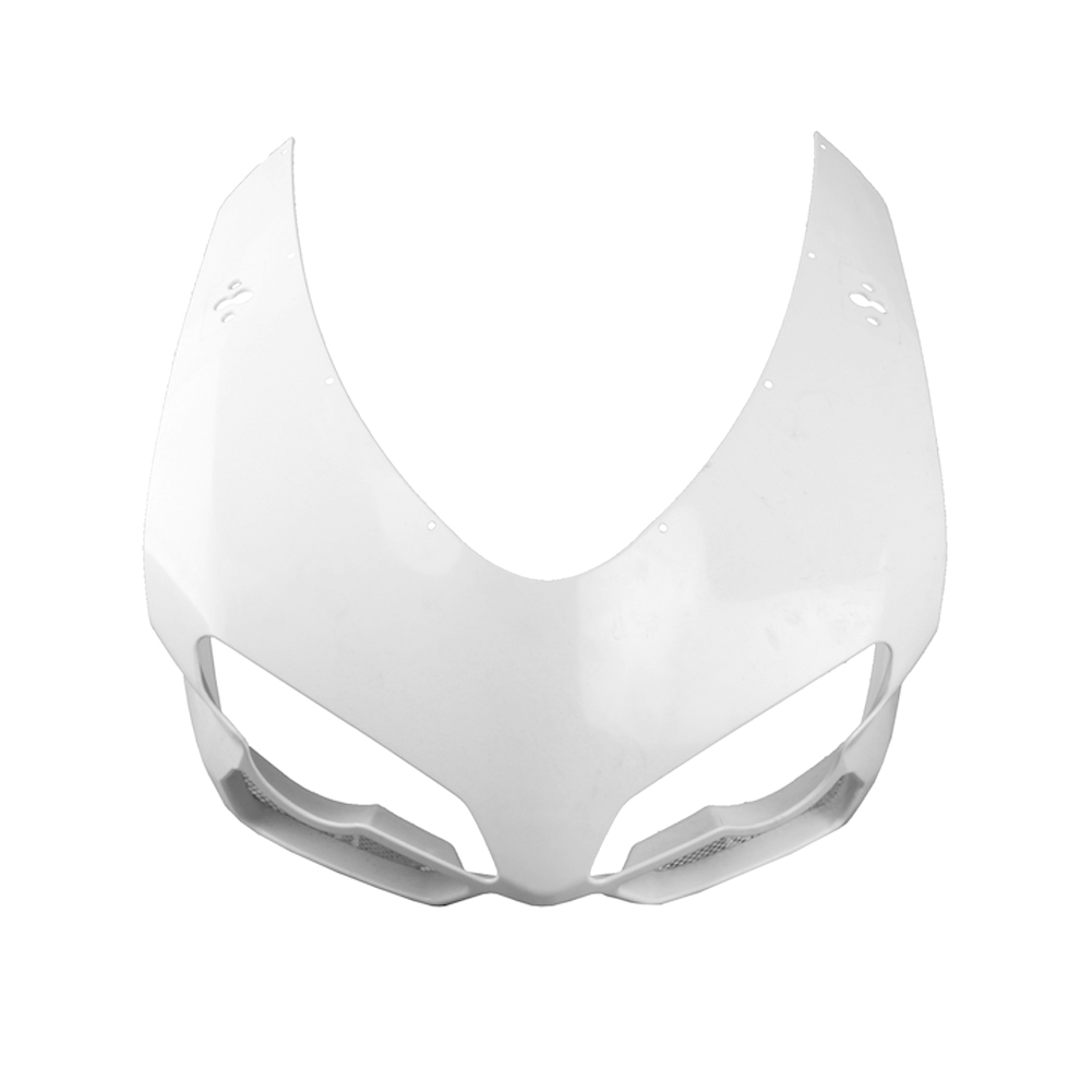 For Ducati 848 1098 Upper Front Nose Fairing Cowl 1198 2007-2011 Motorbike Accessory Injection Mold ABS Plastic Unpainted White mouse component plastic injection mold cnc machining household appliance mold ome mold