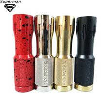 SUB TWO Enforcer Mechanical Mod Brass Material 18650 20700 21700 Battery Electronic Cigarette Pen Electronic Dab Pen MOD(China)
